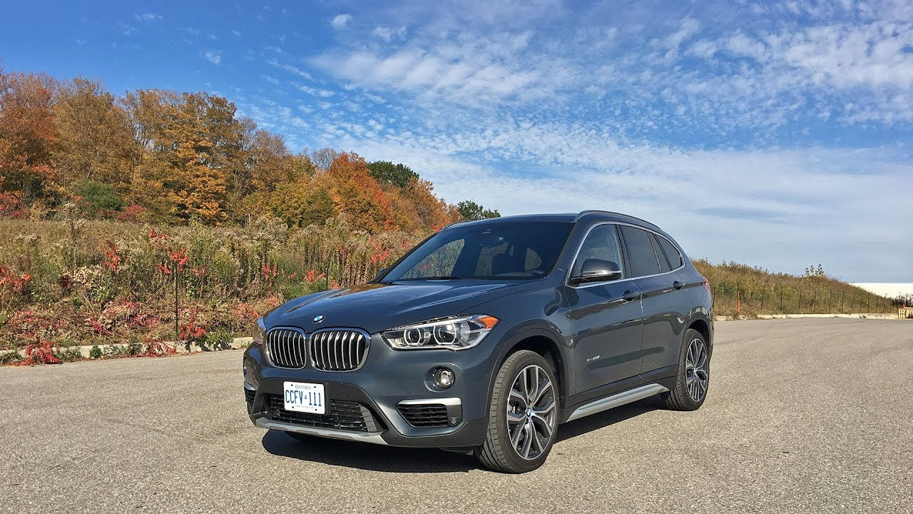 2017 bmw x1 video review