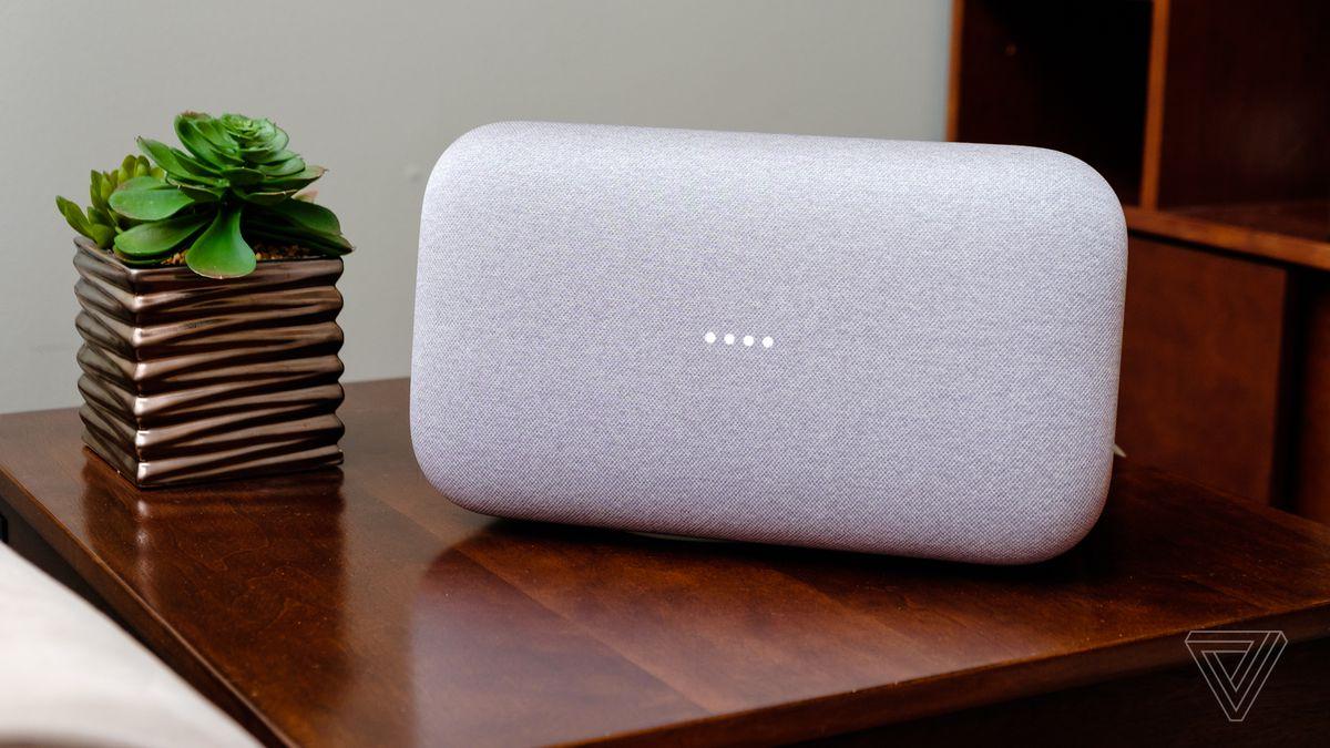 google home sound quality review