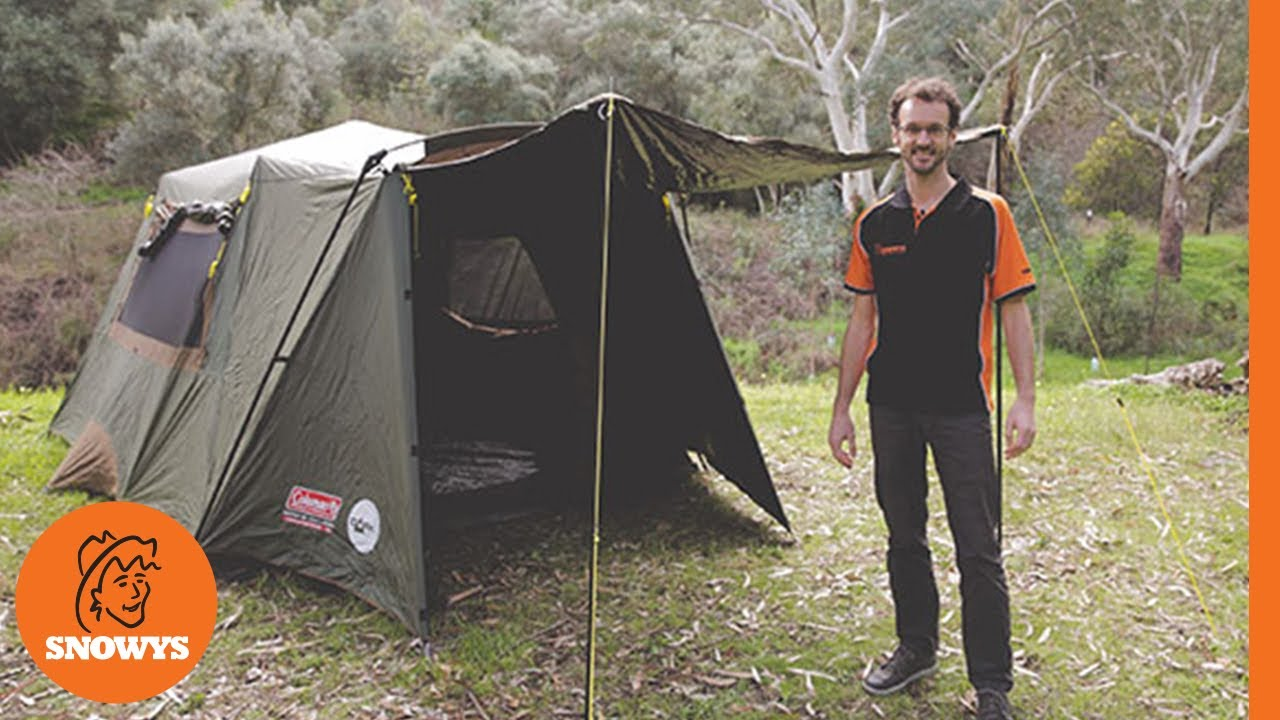 coleman instant up tent 10p review