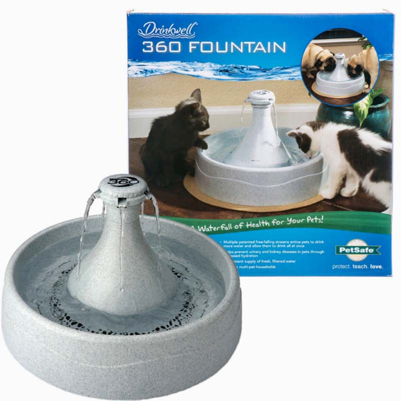 drinkwell 360 stainless steel pet fountain reviews