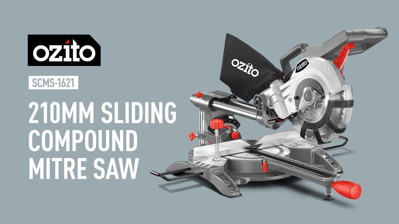 ozito sliding mitre saw review