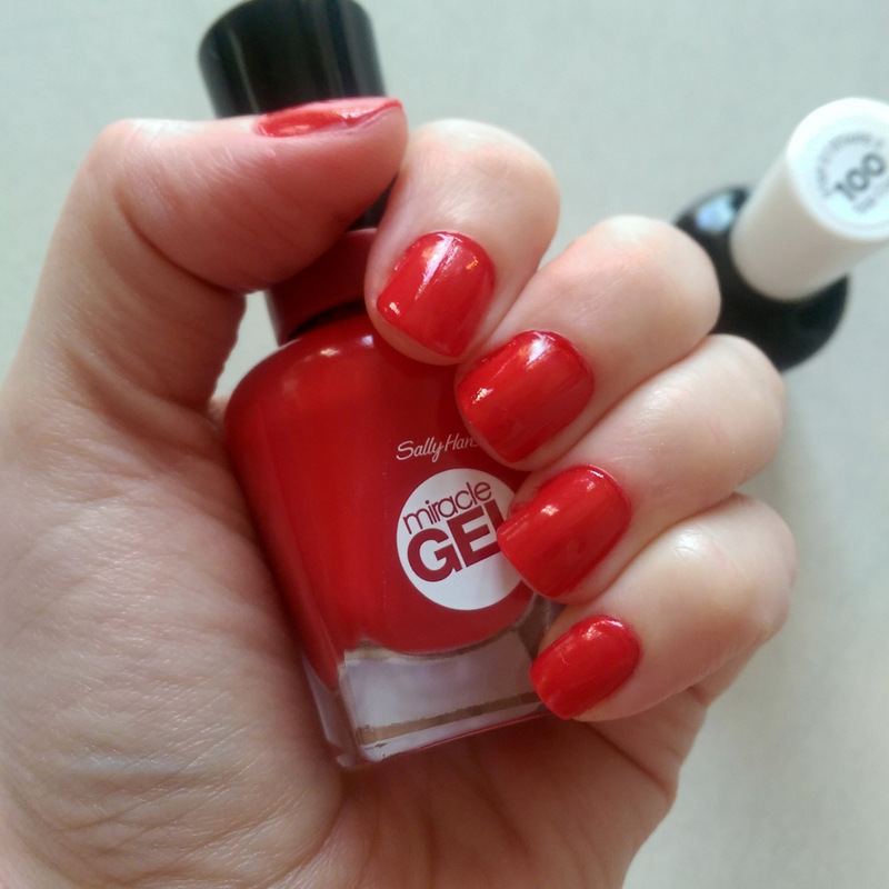 miracle gel nail polish review
