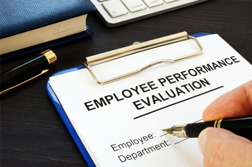 how to conduct a performance review