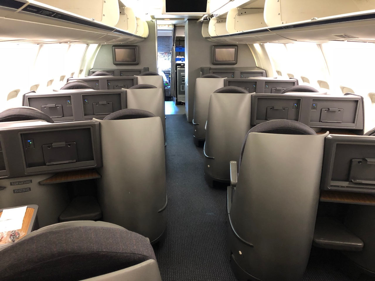 american airlines 757 business class review