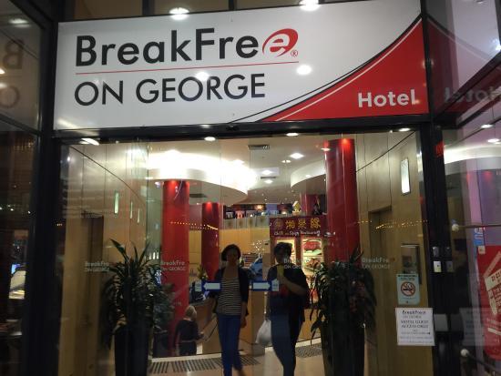 breakfree on george sydney reviews