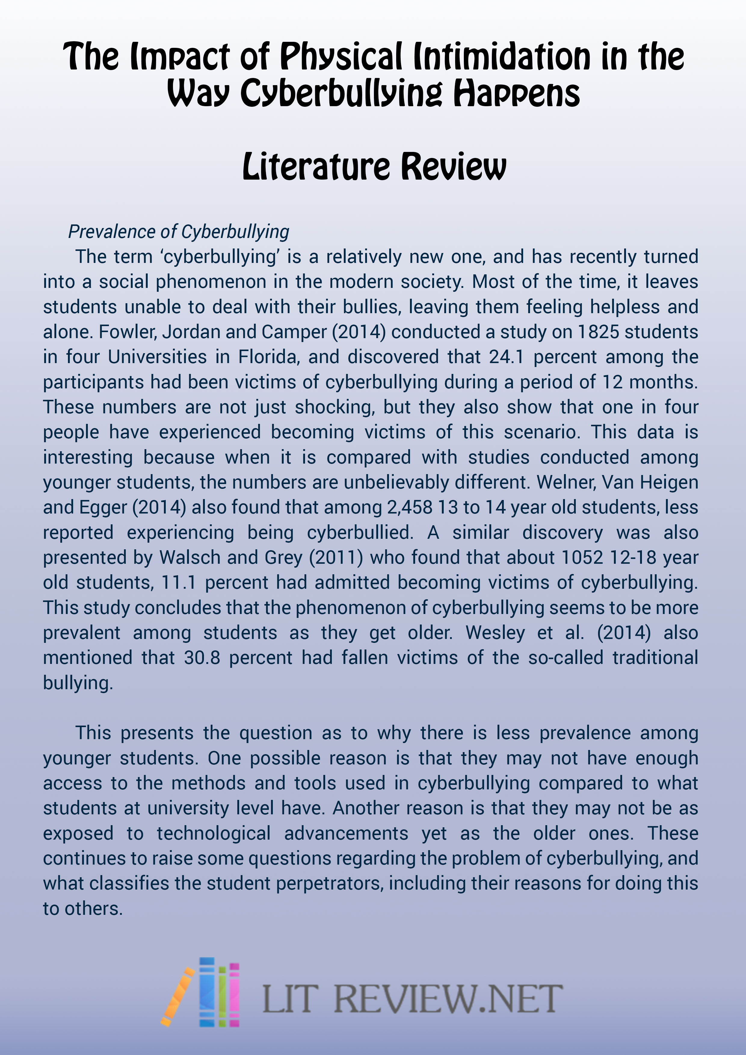 help writing dissertation literature review