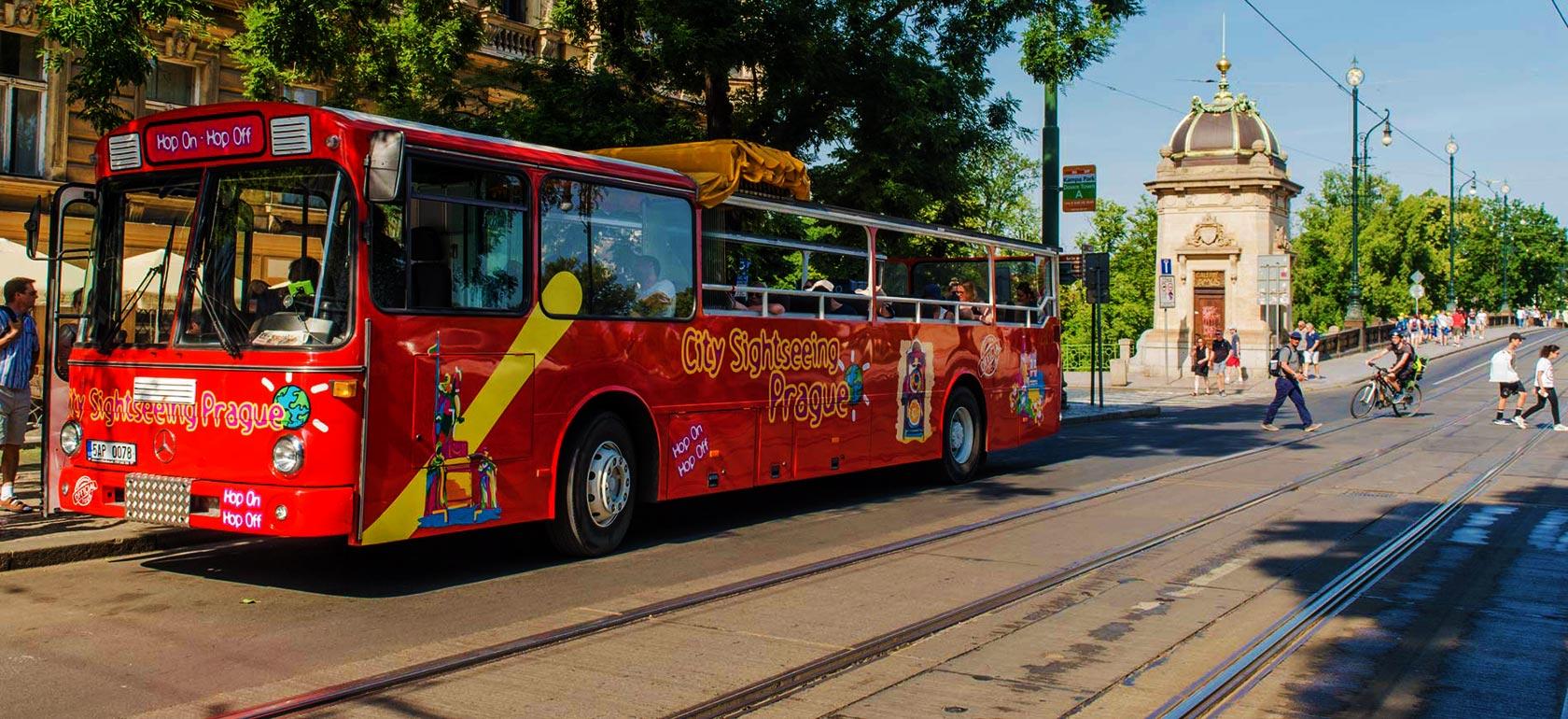 prague hop on hop off bus reviews