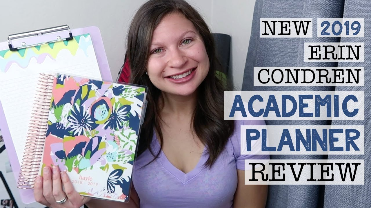 erin condren academic planner review