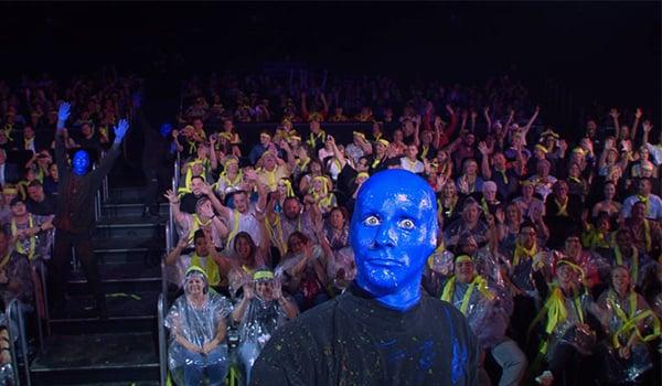 blue man group nyc reviews