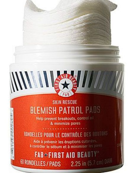 first aid beauty blemish patrol pads review