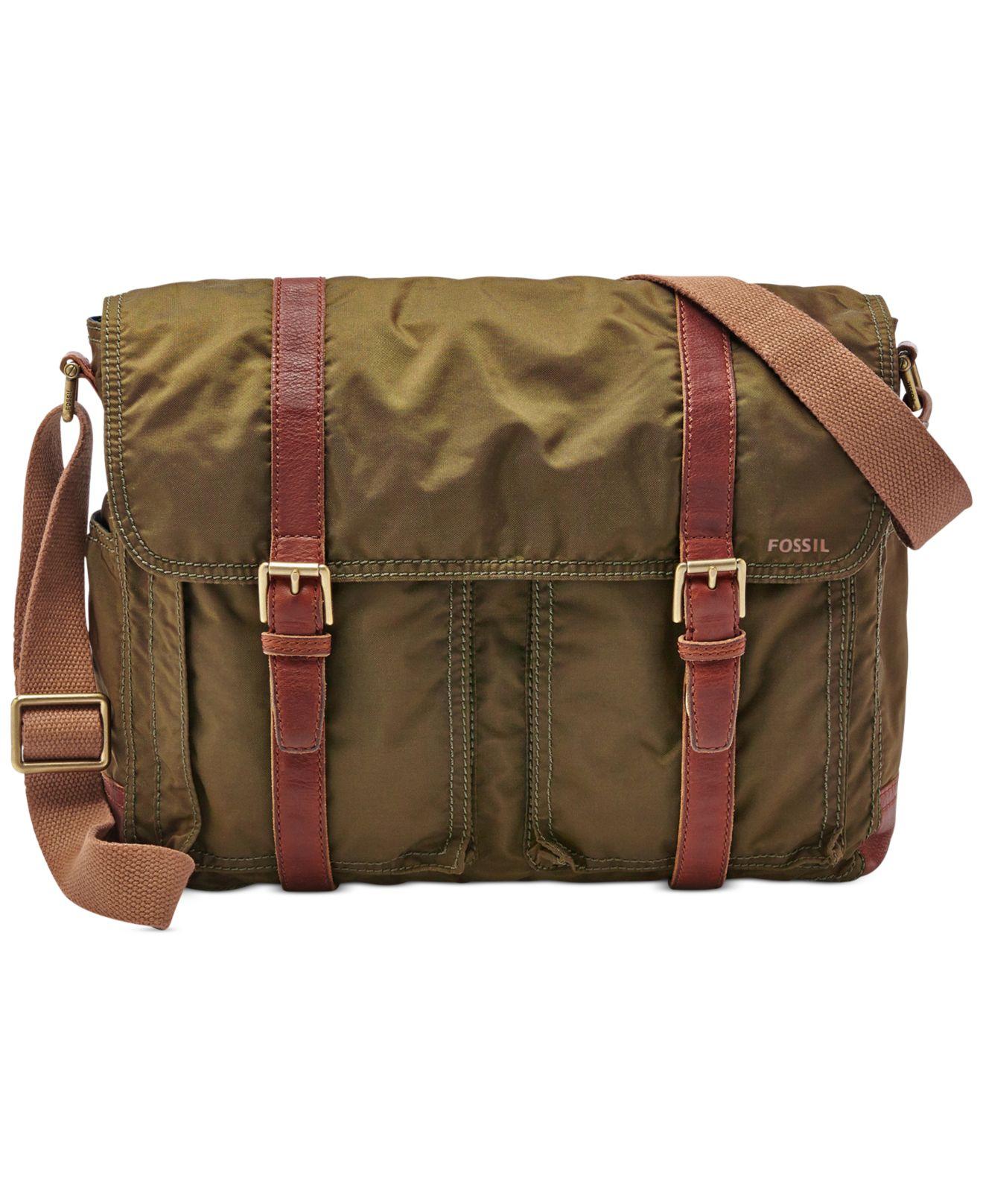 fossil estate messenger bag review