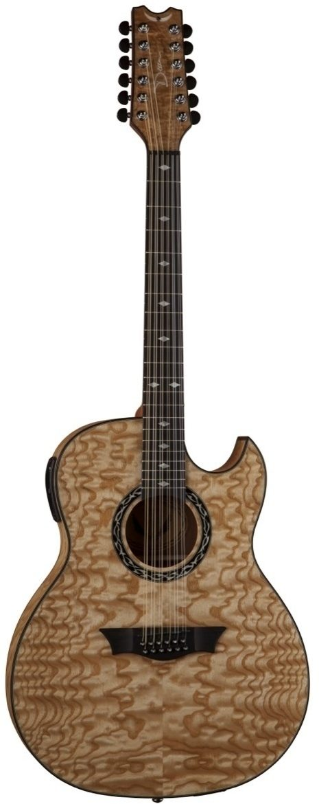 dean 12 string acoustic electric guitar review