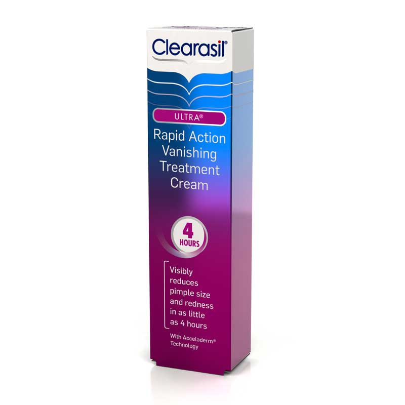 clearasil ultra rapid action vanishing acne treatment gel review