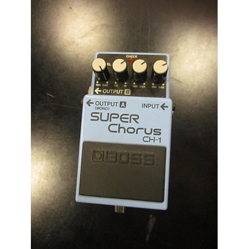boss ch1 super chorus pedal review