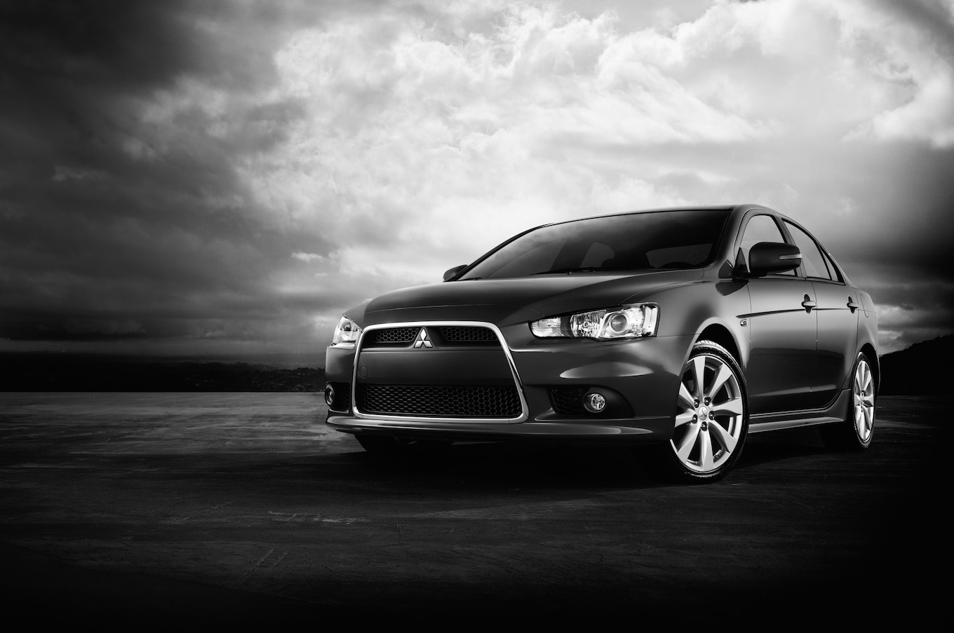 mitsubishi lancer black edition review