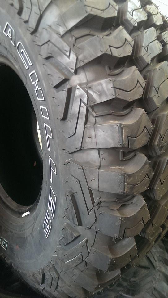 achilles desert hawk x mt tyres review