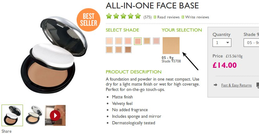 all in one face base review