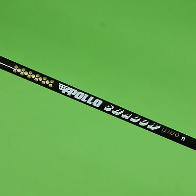 apollo shadow graphite shaft review