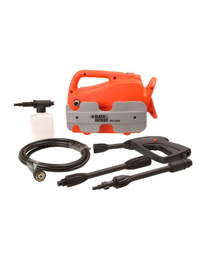 black and decker pressure washer review
