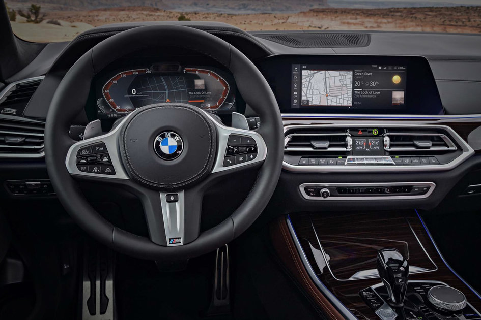 bmw multifunction instrument display review