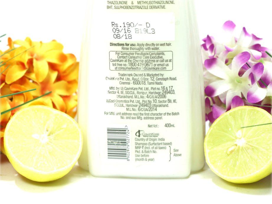 avon naturals anti dandruff shampoo review