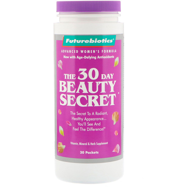 futurebiotics 30 day beauty secret reviews