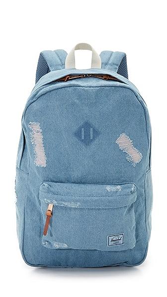 herschel supply co heritage backpack review