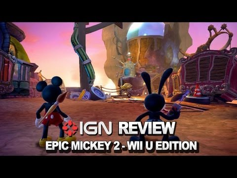 epic mickey wii u review