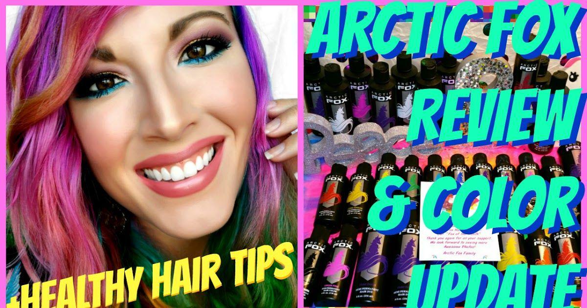 arctic fox hair colour review