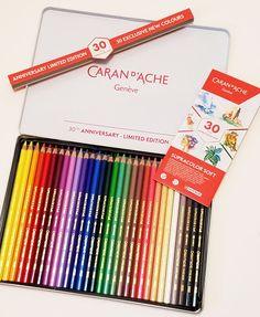 caran d ache watercolor pencils review