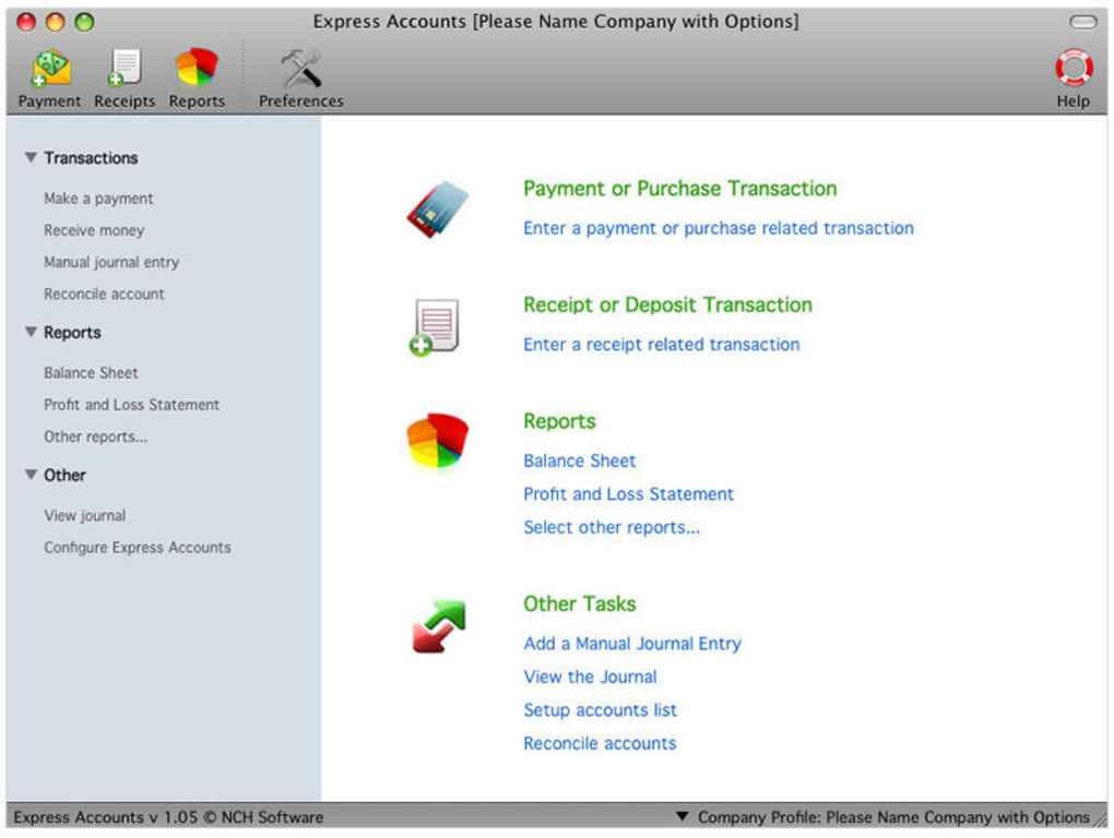 free accounting software for mac reviews