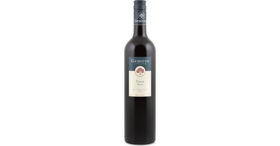gemtree uncut shiraz 2012 review