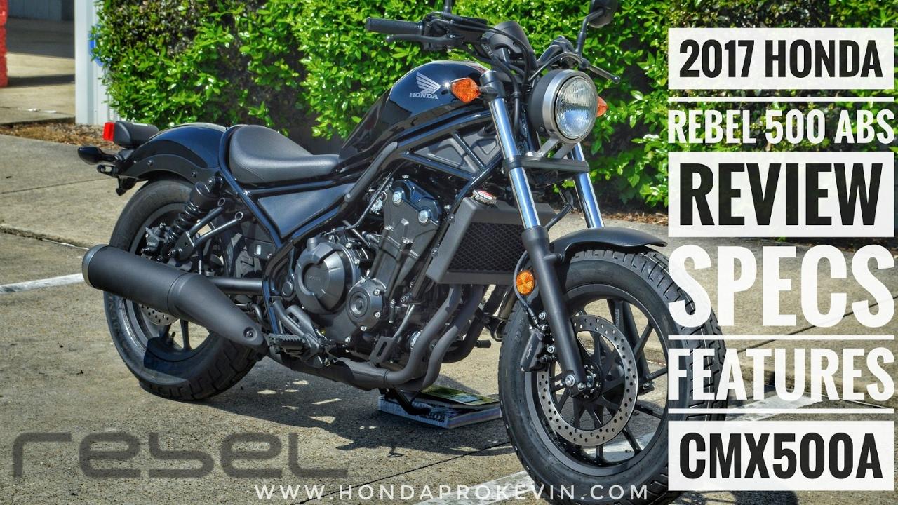 honda cmx 500 rebel review