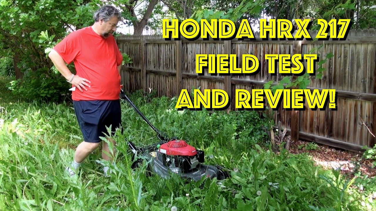 honda self propelled mower reviews