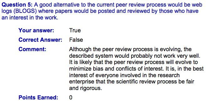 how to write a peer review examples