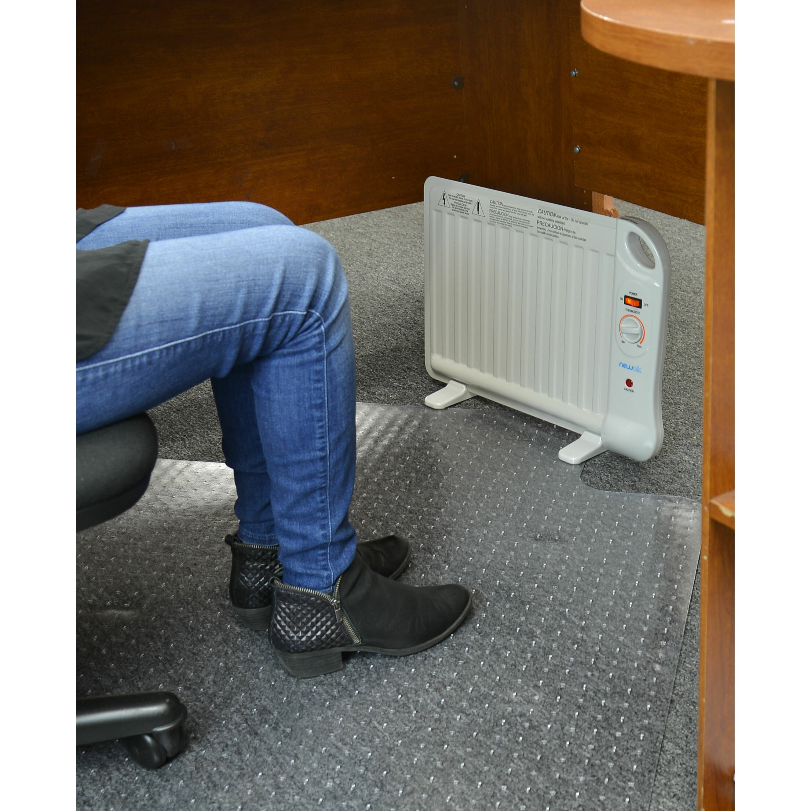 moretti glass panel heater review