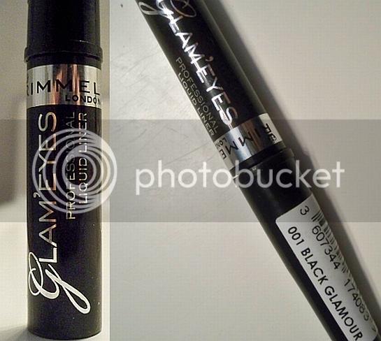 rimmel glam eyes liquid eyeliner review